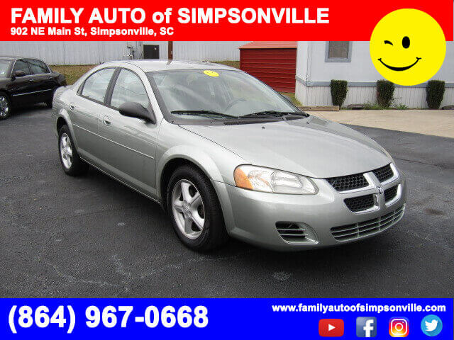 used cars near me 2005 dodge stratus sxt family auto of simpsonville. Black Bedroom Furniture Sets. Home Design Ideas