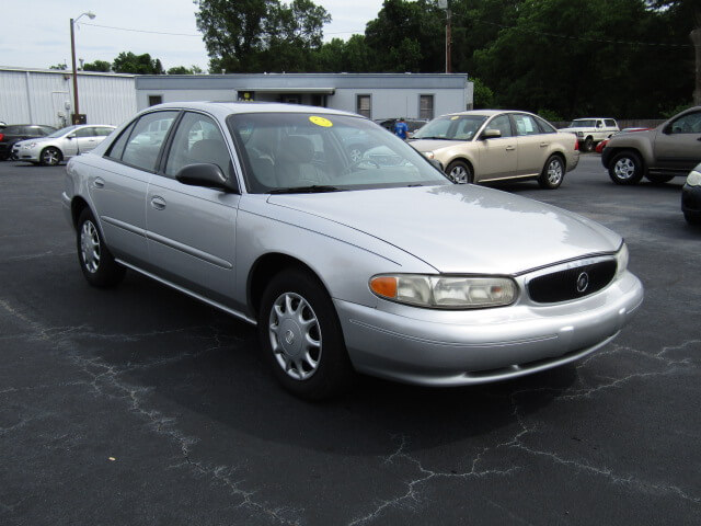 bad credit no credit used cars of simpsonville family auto of simpsonville 2004 buick century. Black Bedroom Furniture Sets. Home Design Ideas