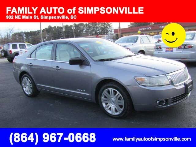 2006 lincoln zephyr family auto of simpsonville. Black Bedroom Furniture Sets. Home Design Ideas