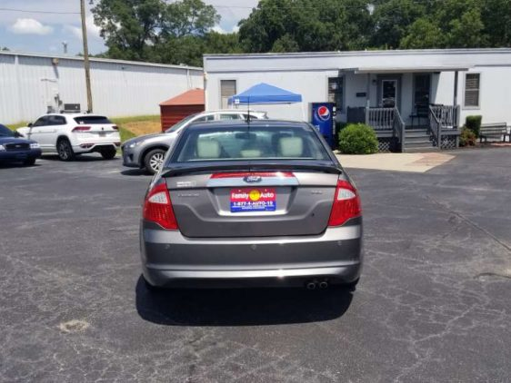 Ford Fusion 2011 Gray