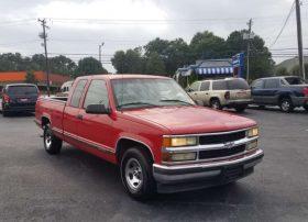 Chevrolet Silverado 1998 Red