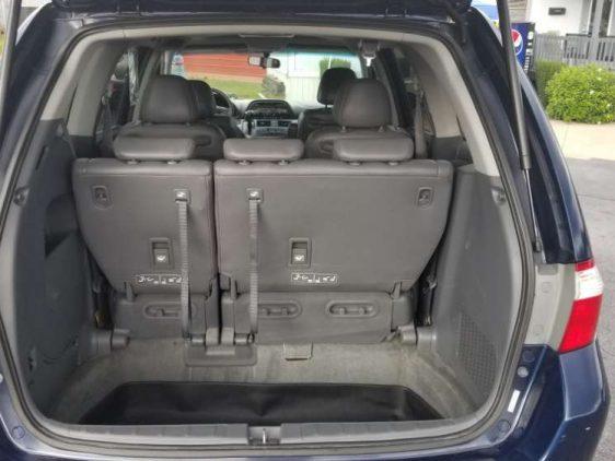 Honda Odyssey 2005 Blue