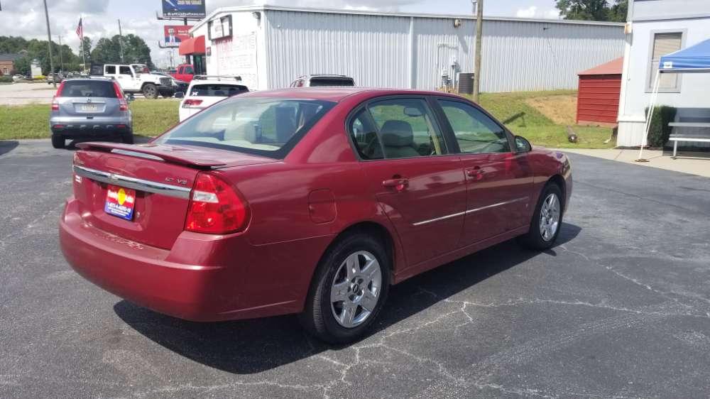 Chevrolet Malibu 2006 Red