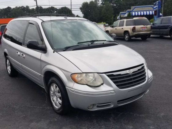 Chrysler Town & Country 2006 Silver