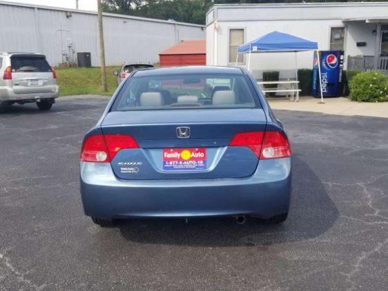 Honda Civic 2006 Blue