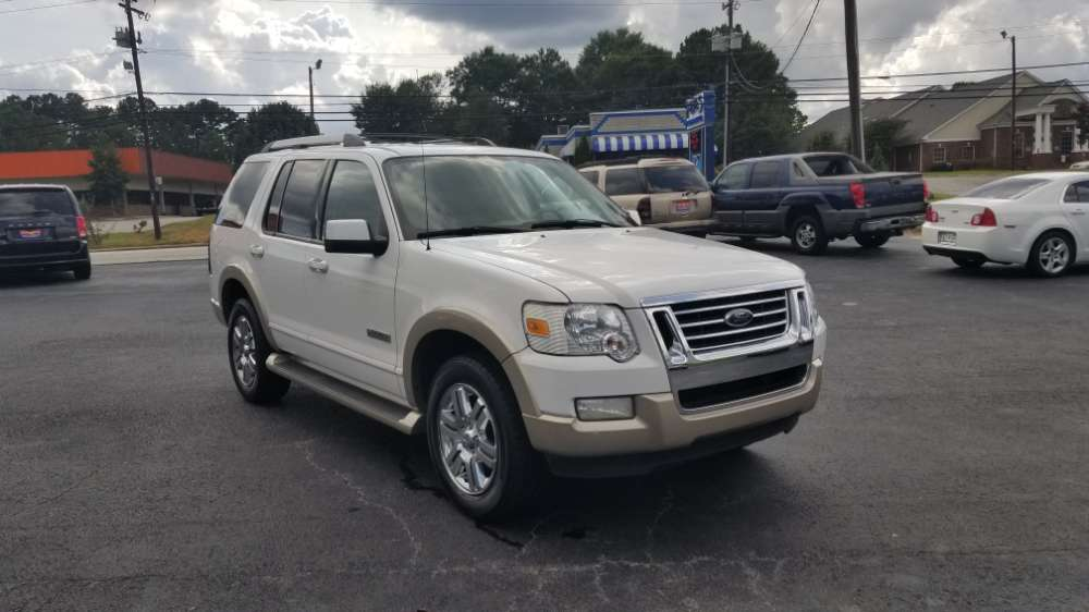 Ford Explorer 2007 White