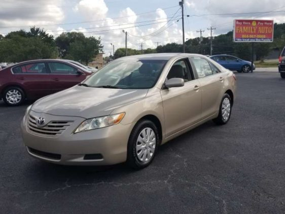 Toyota Camry 2007 Tan