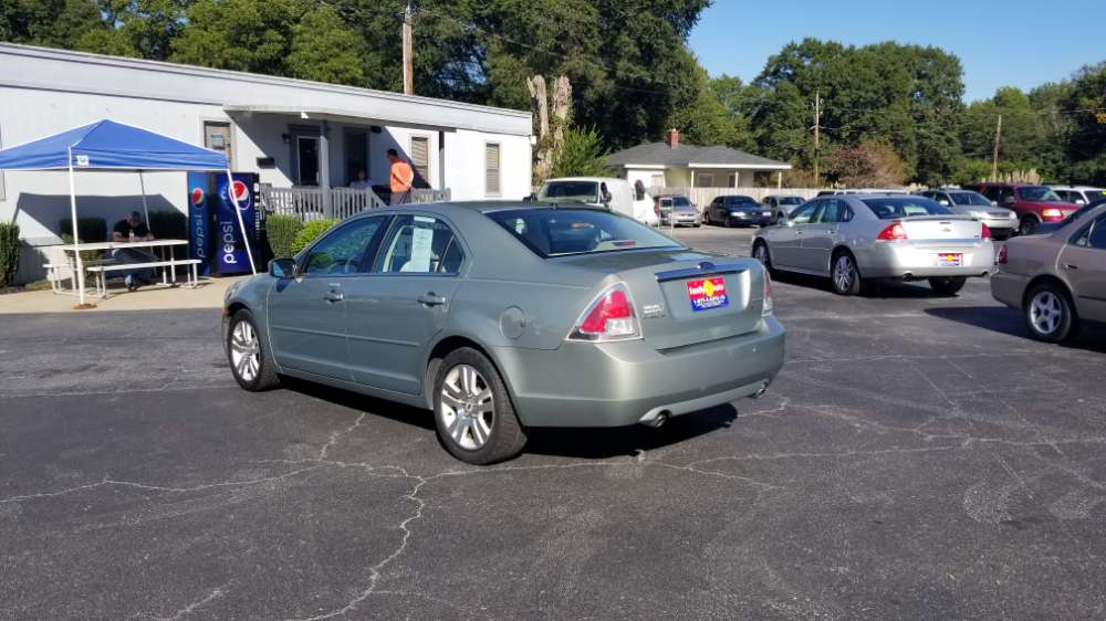 Ford Fusion 2008 Green