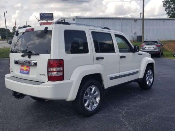 Jeep Liberty 2008 White