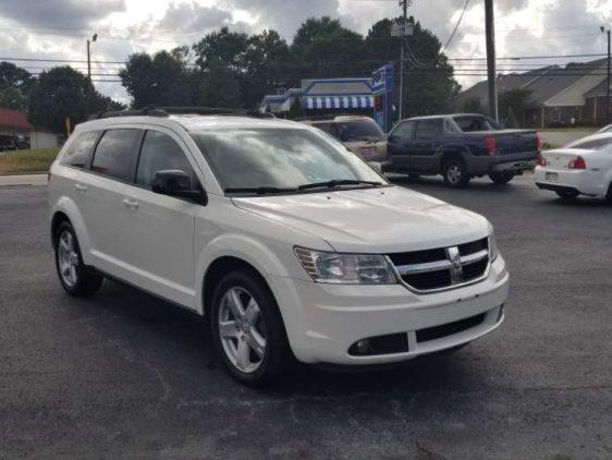 Dodge Journey 2009 White