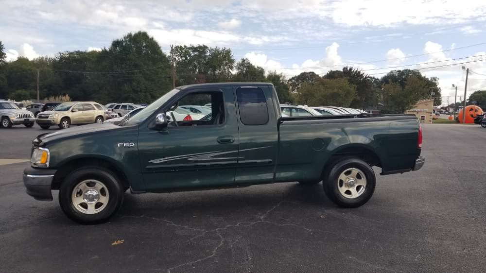 Ford F-150 2001 Green