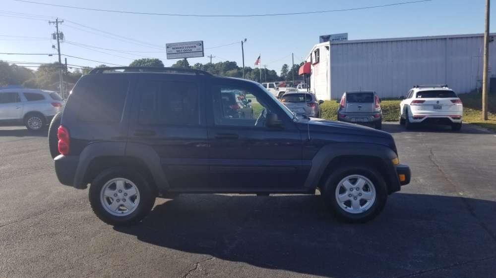 Jeep Liberty 2006 Blue