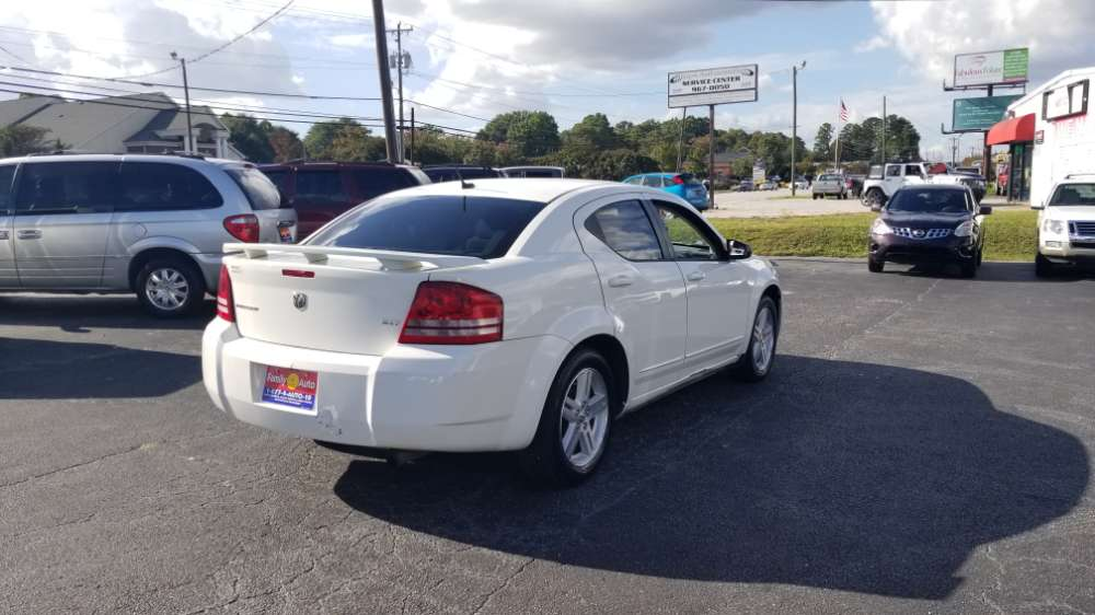 Dodge Avenger 2008 White
