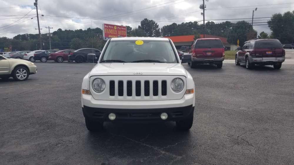 Jeep Patriot 2012 White