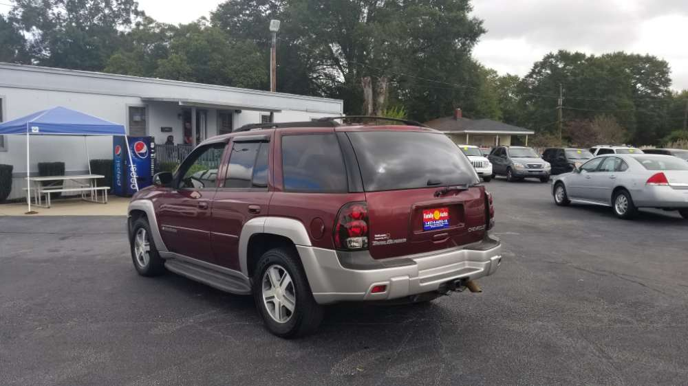 2004 Chevrolet Trailblazer Burgandy