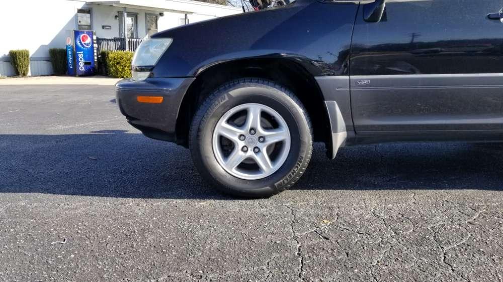 Lexus RX 300 2001 Black