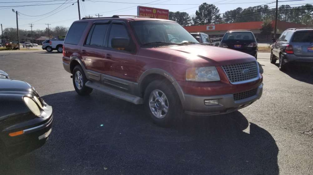 Ford Expedition 2004 Red