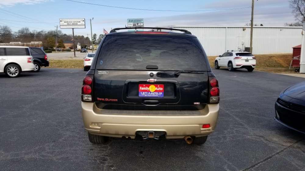 Chevrolet Trailblazer 2006 Black