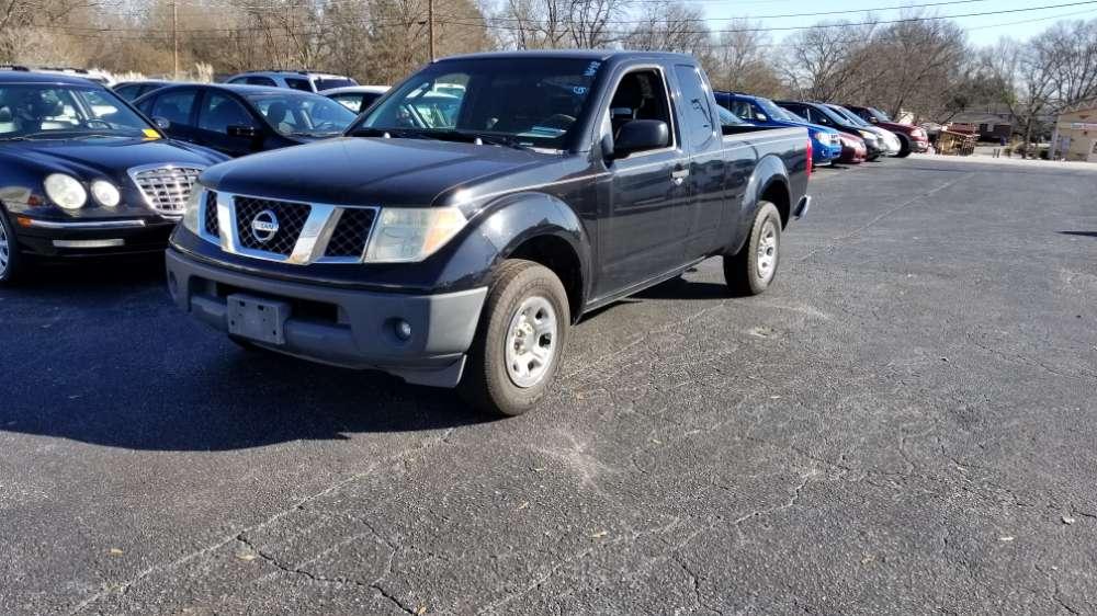 Nissan Frontier 2006 Black