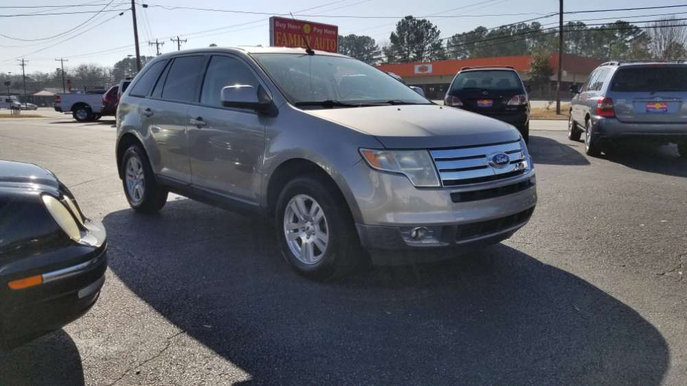 Ford Edge 2008 Gray