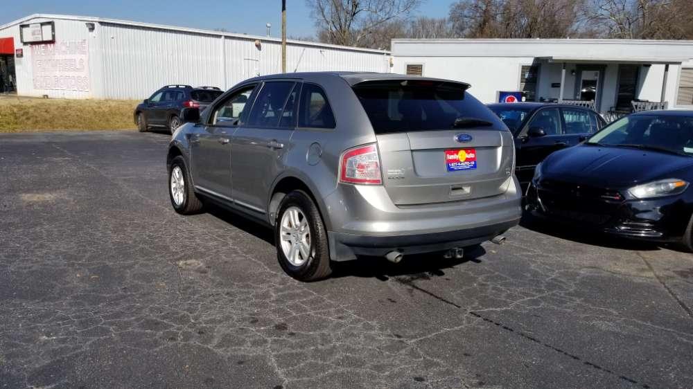 Ford Edge 2008 Gray