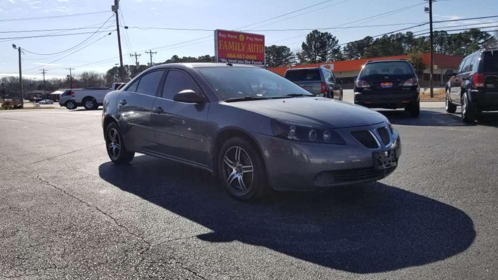 Pontiac G6 2008 Gray