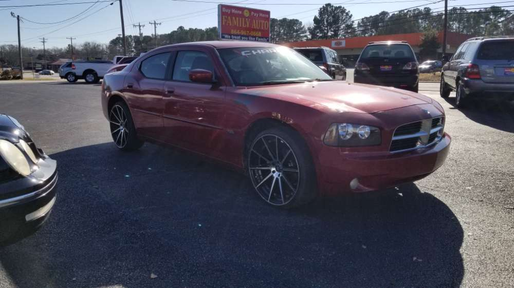 Dodge Charger 2010 Red