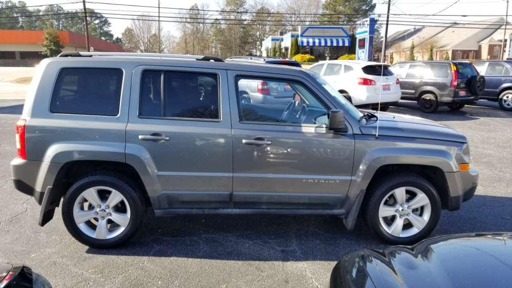 Jeep Patriot 2011 Gray
