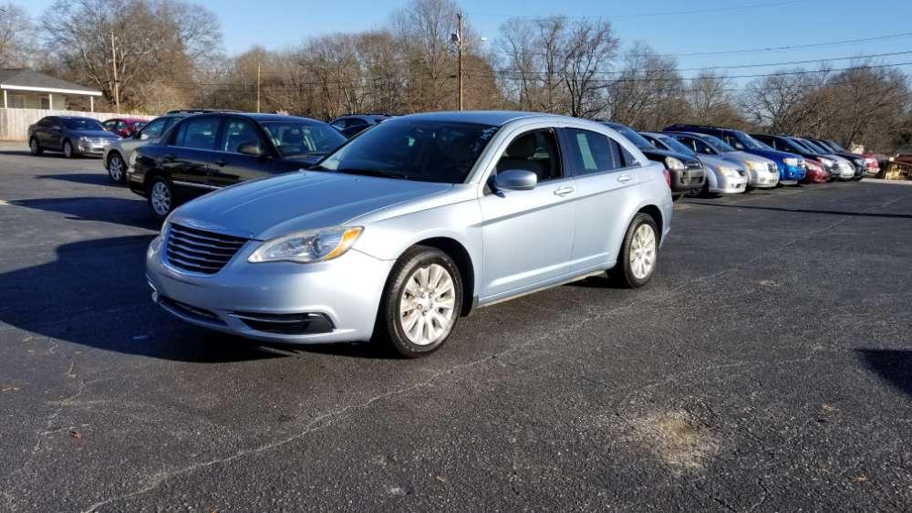 Chrysler 200 2012 Blue