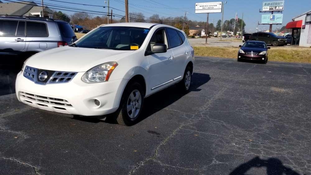 Nissan Rogue 2013 White