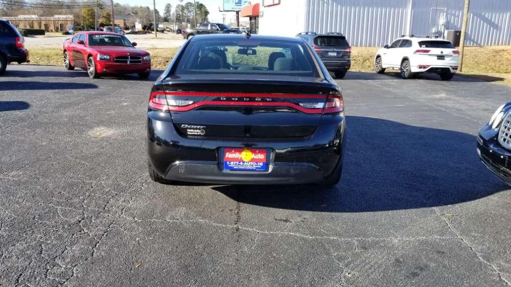 Dodge Dart 2015 Black