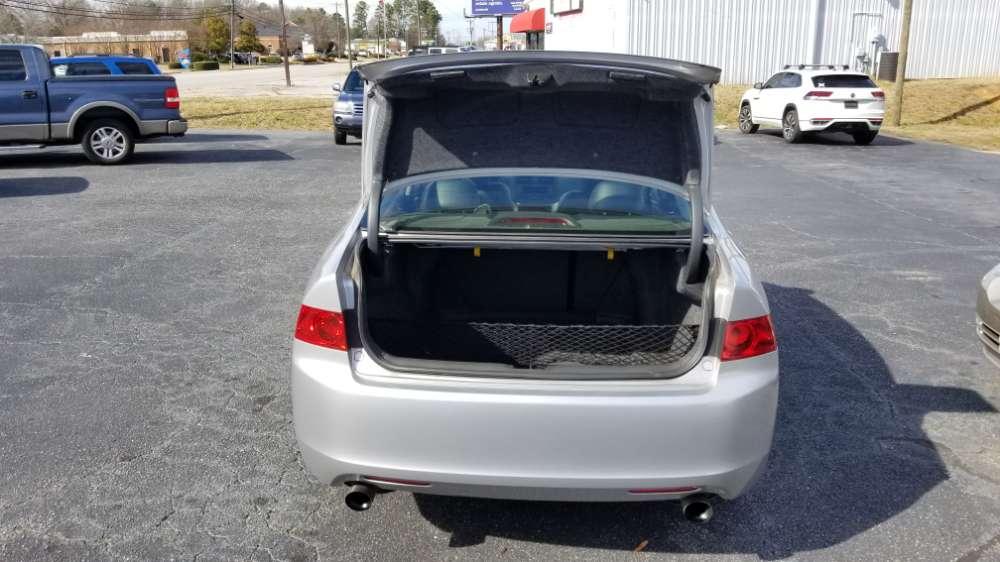 Acura TSX 2004 Silver