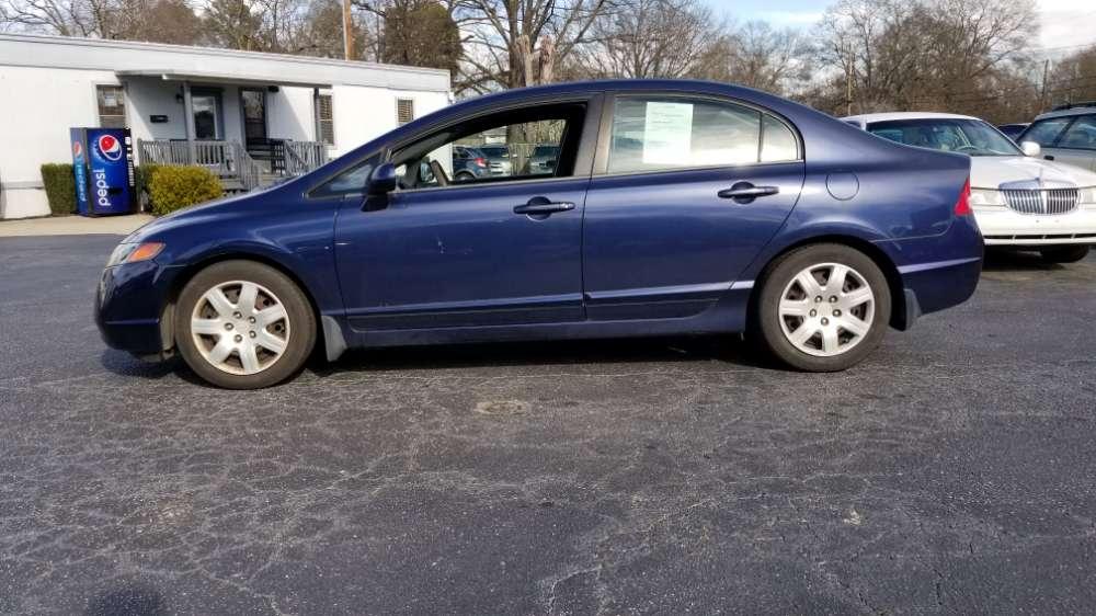 Honda Civic 2007 Blue