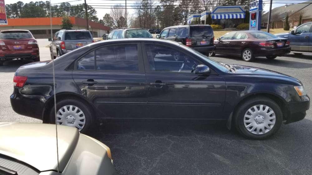 Hyundai Sonata 2008 Blue