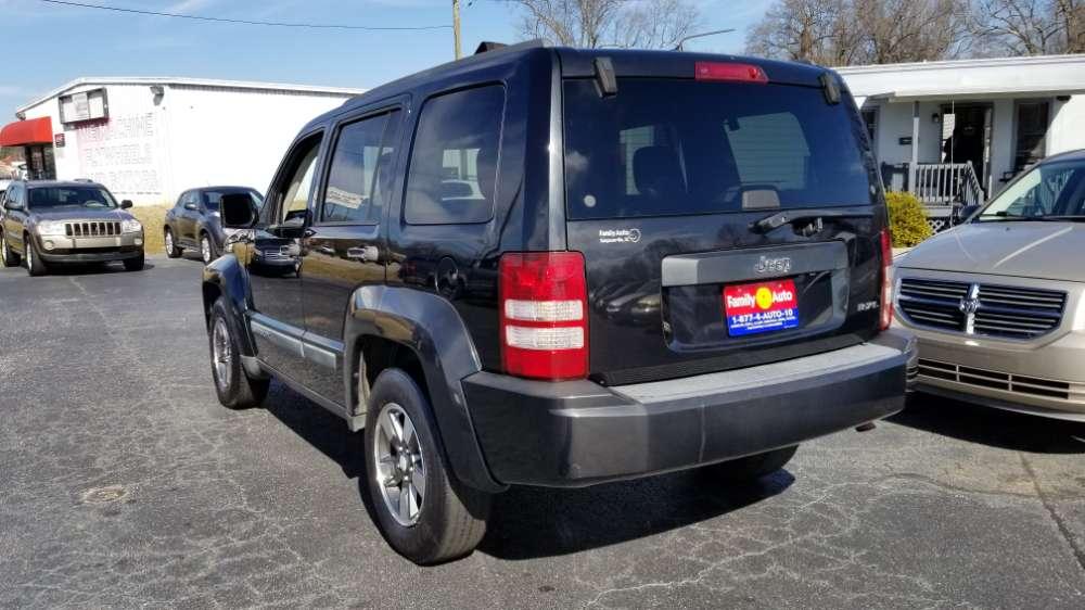 Jeep Liberty 2008 Black