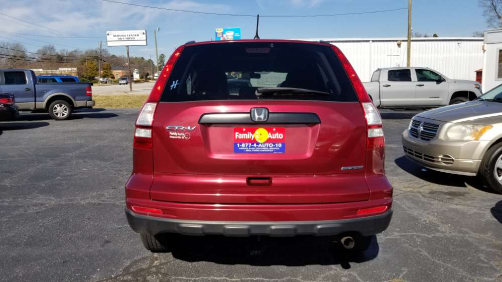 Honda CR-V 2011 Red