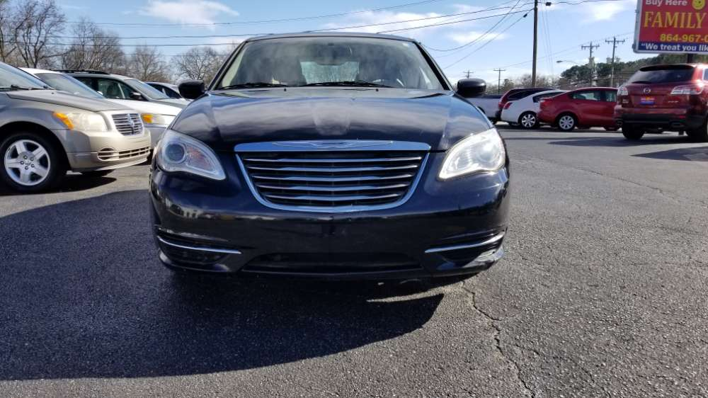 Chrysler 200 2012 Black