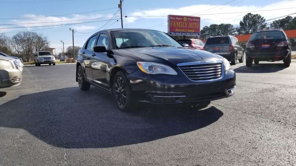 Chrysler 200 2012 Black