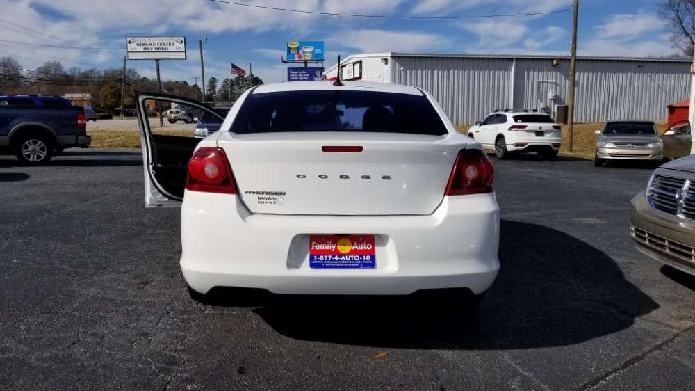 Dodge Avenger 2013 White