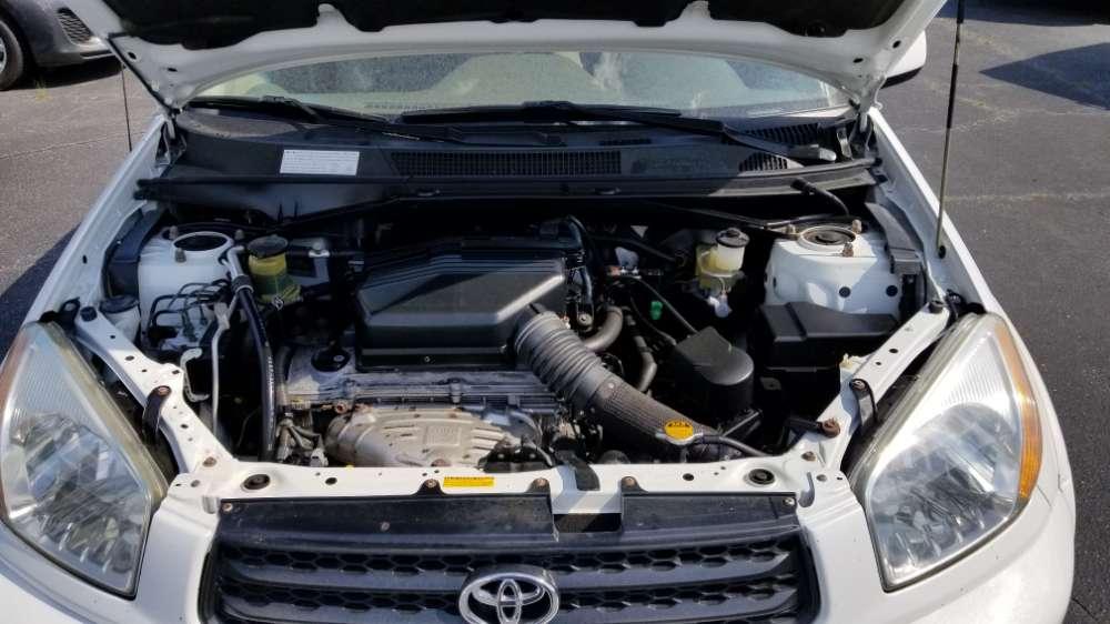Toyota Rav4 2003 White