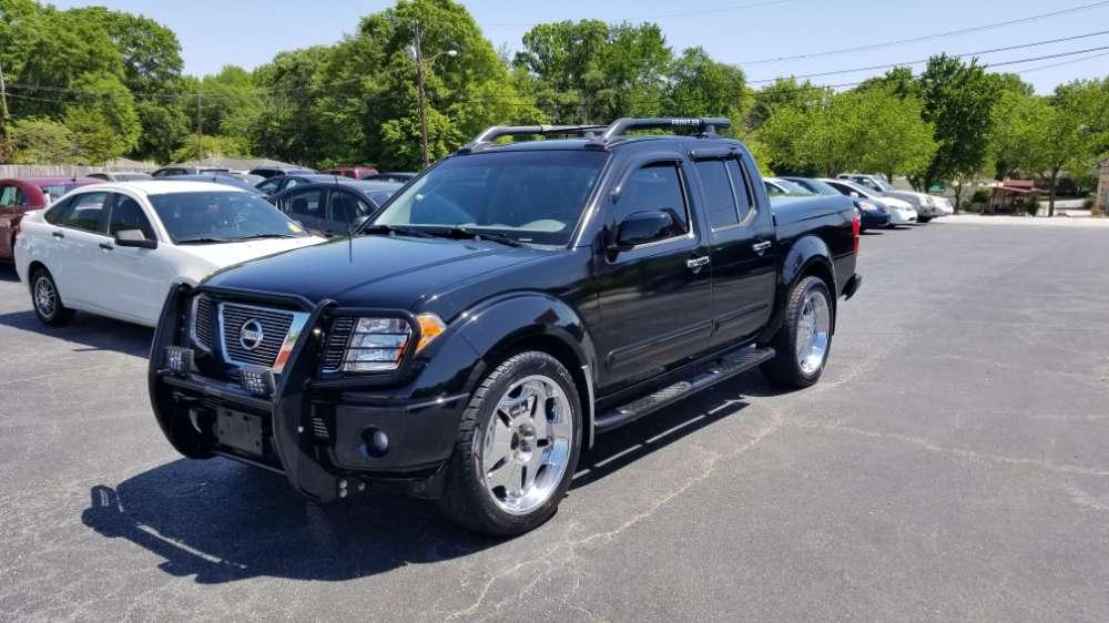 Nissan Frontier 2005 Black