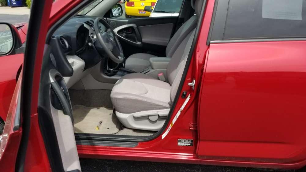 Toyota Rav4 2008 Red