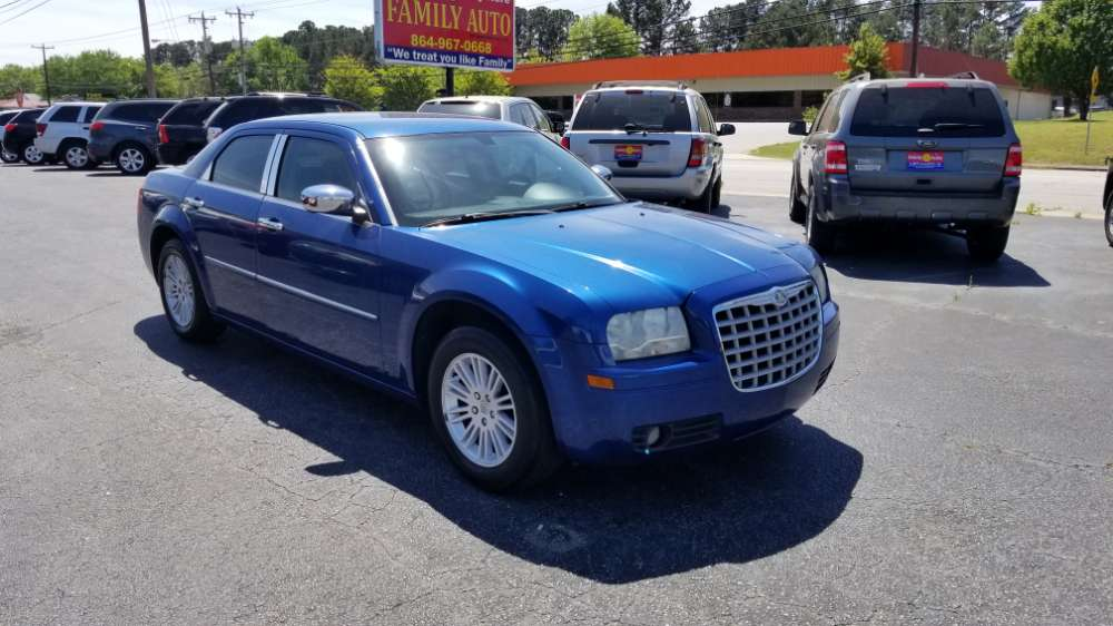 Chrysler 300 2009 Blue