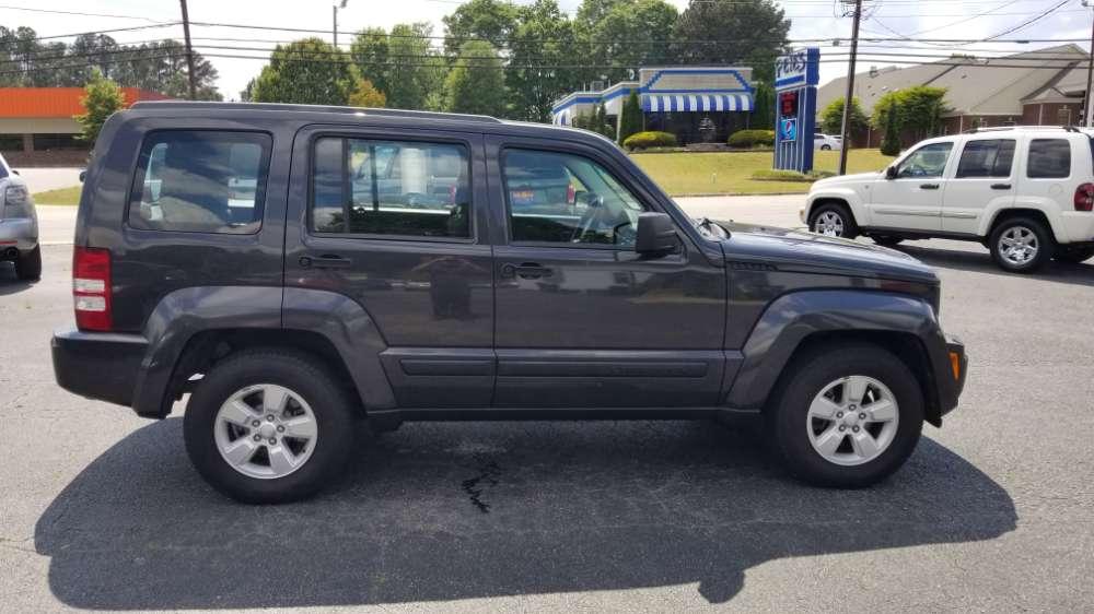 Jeep Liberty 2010 Gray