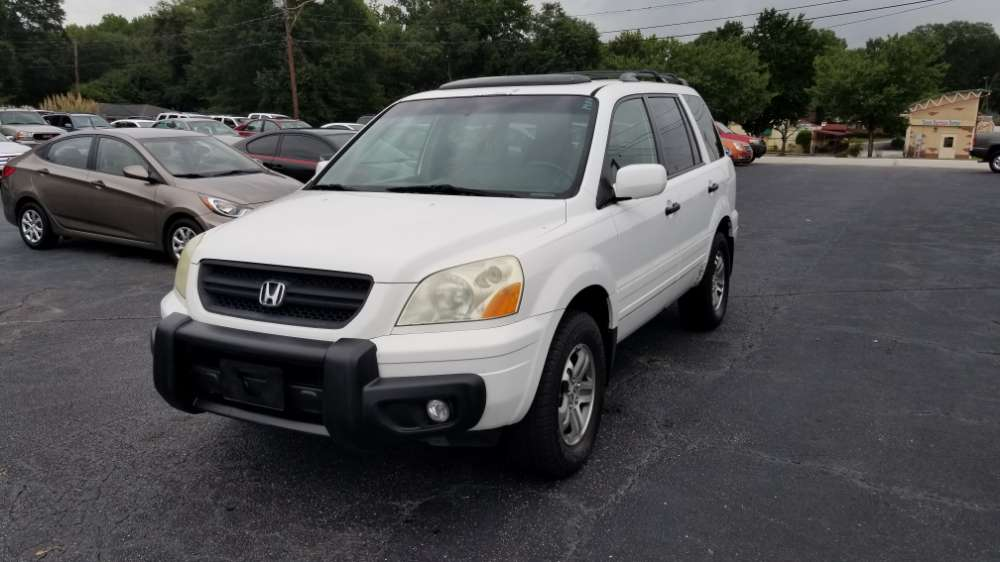 Honda Pilot 2005 White