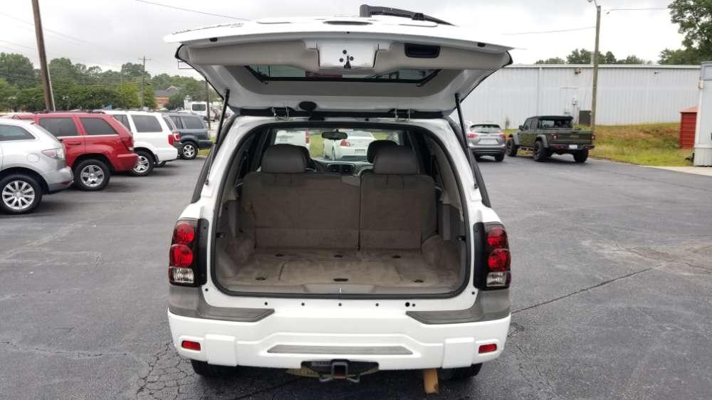 Chevrolet Trailblazer 2007 White