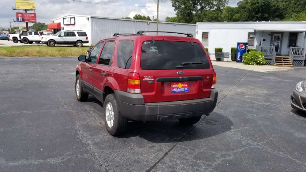 Ford Escape 2007 Red