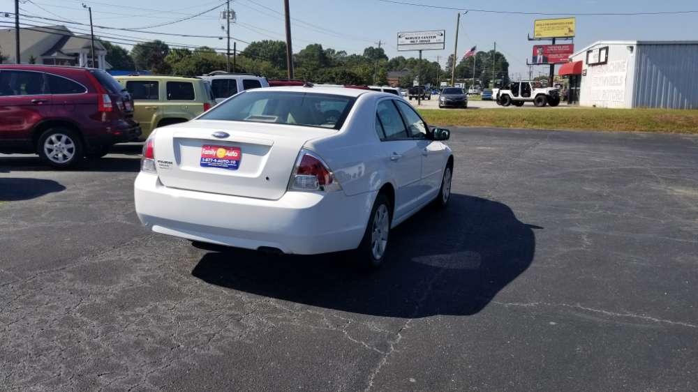 Ford Fusion 2007 White