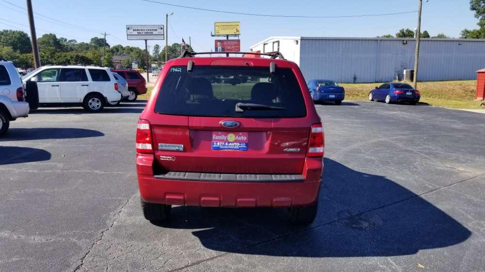 Ford Escape 2008 Red