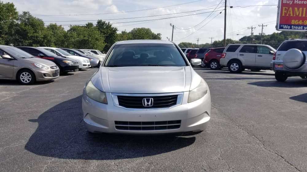 Honda Accord 2009 Silve
